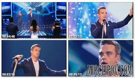 Robbie Williams - Bodies (Live, X Factor)