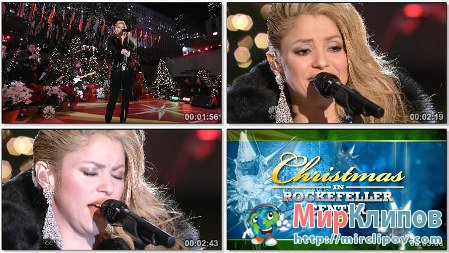 Shakira - Santa Baby (Live Christmas In Rockefeller Center)