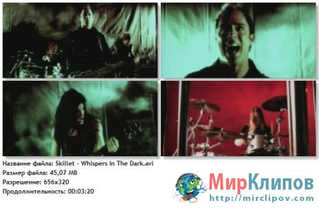 Skillet - Whispers In The Dark