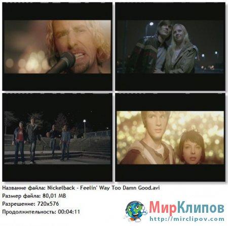 Nickelback - Feelin Way Too Damn Good