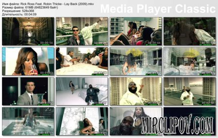 Rick Ross Feat. Robin Thicke - Lay Back