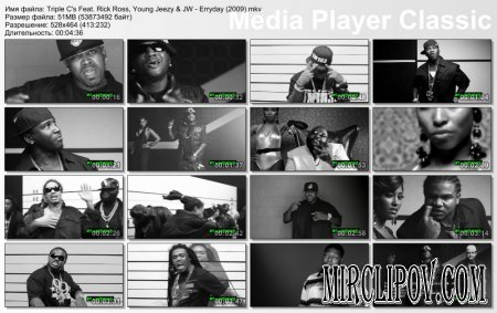 Triple C's Feat. Rick Ross, Young Jeezy & JW - Erryday