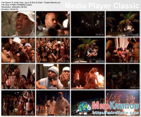 R. Kelly Feat. Jay-Z & Boo & Gotti - Fiesta (Remix)