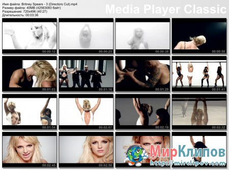 Britney Spears - 3 (Directors Cut)