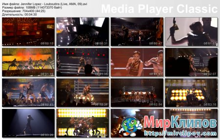 Jennifer Lopez - Louboutins (Live, AMA, 2009)