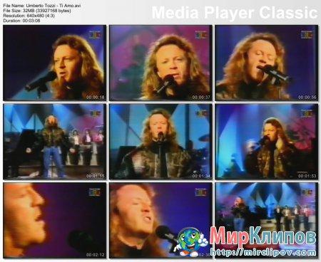 Umberto Tozzi - Ti Amo (Live, 80's)