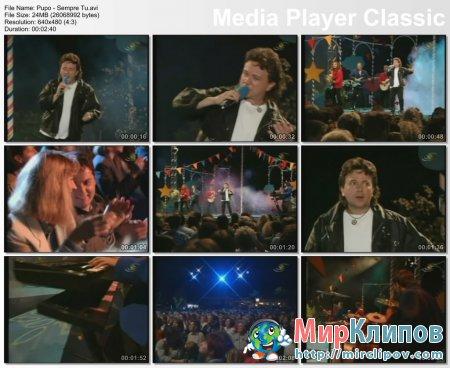 Pupo - Sempre Tu (Live, 80s)