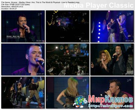 Alcazar - Medley (Live, Sweden)