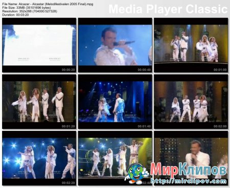 Alcazar - Alcastar (Live, Melodifestivalen, Final, 2005)