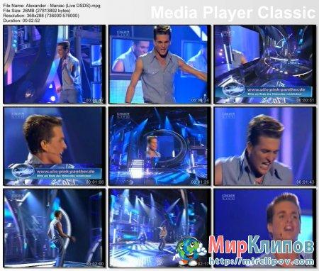 Alexander - Maniac (Live, DSDS)