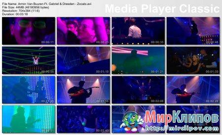 Armin Van Buuren Feat. Gabriel & Dresden - Zocalo ( Live, Armin Only, 2008 )