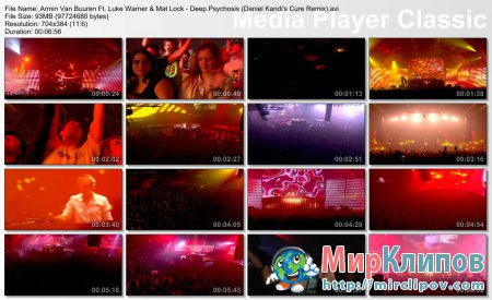 Armin Van Buuren Feat. Luke Warner & Mat Lock - Deep Psychosis (Live, Armin Only, 2008)