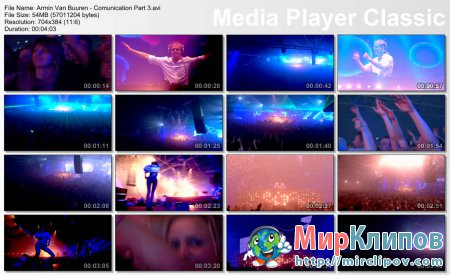 Armin Van Buuren - Comunication Part 3 (Live, Armin Only, 2008)