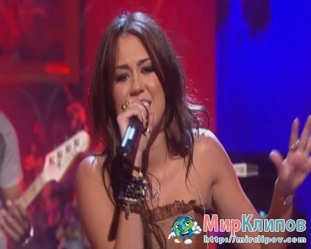Miley Cyrus - Party In The U.S.A. (Live, Alan Carr Chatty Man)