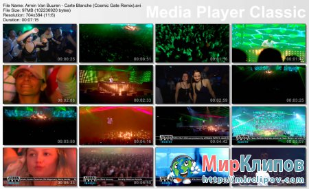 Armin Van Buuren - Carte Blanche (Live, Armin Only, 2008, Cosmic Gate Remix)