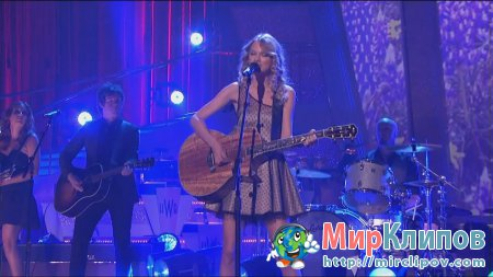 Taylor Swift - Jump Then Fall (Live, Dancing With The Stars, 2009)