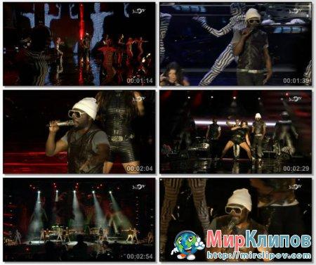Black Eyed Peas - Boom Boom Pow (Live, F1 Rocks, Singapore, 26.12.09)