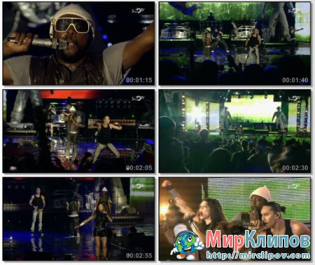 Black Eyed Peas - Pump It (Live, F1 Rocks, Singapore, 26.12.09)