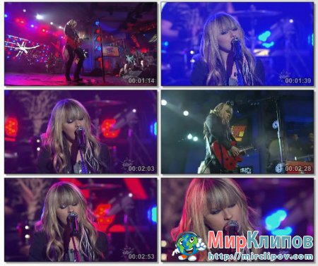 Orianthi - According To You (Live, Dick Clarks New Years Rockin Eve, 2010)