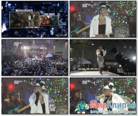 Rihanna - Hard (Live, NBC New Years Eve With Carson Daly, 2010)