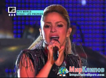 Shakira - Loba (Live, Los Premios MTV, 2009)
