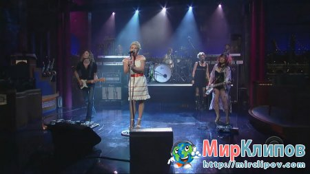 Pink - Who Knew (Live, Late Show With David Letterman, 2006)