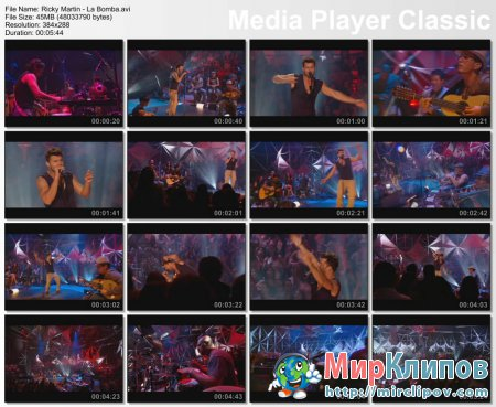 Ricky Martin - La Bomba (Live)