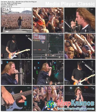 Stone Sour - Monolith (Live, Rock Am Ring)