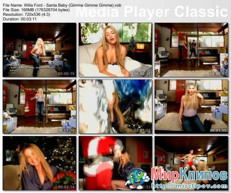 Willa Ford - Santa Baby (Gimme Gimme Gimme)