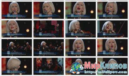 Christina Aguilera - Lift Me Up (Live, Hope For Haiti Now, 22.01.10)