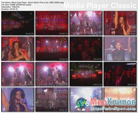 Black Eyed Peas - Boom Boom Pow (Live, AMA, 2009)