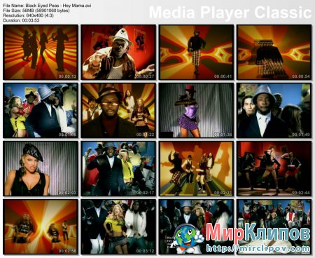 Black Eyed Peas - Hey Mama