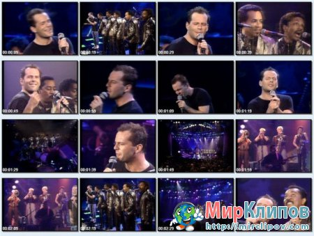 Bruce Willis Feat. The Temptations – Under The Boardwalk (Live)