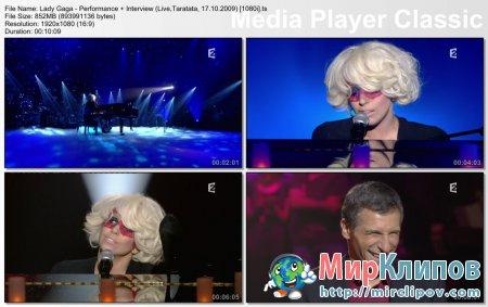 Lady Gaga - Live Performance (Live, Taratata, 17.10.09)