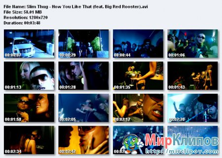 Slim Thug Feat. Big Red Rooster - How You Like That