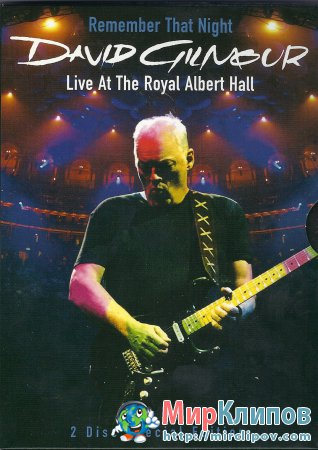 David Gilmour - Remember That Night (Live, Concert)