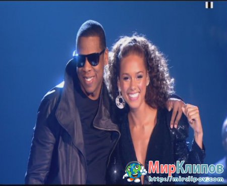 Jay-Z Feat. Alicia Keys - Empire State Of Mind (Live, Brit Awards, 2010)