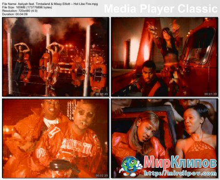 Aaliyah Feat. Timbaland & Missy Elliott – Hot Like Fire
