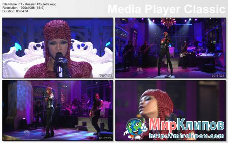Rihanna - Russian Roulette (Live, Saturday Night, 12.05.09)