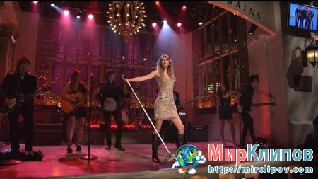 Taylor Swift - You Belong With Me (Live, SNL)