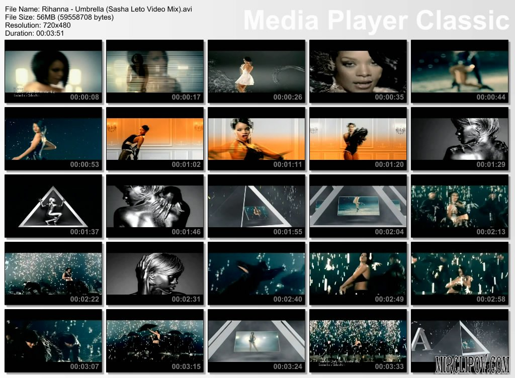 Rihanna - Umbrella (Sasha Leto Video Edit, Jody Den Broeden Lush Mix)
