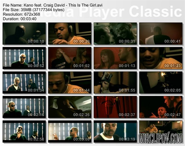 Kano Feat. Craig David - This Is The Girl