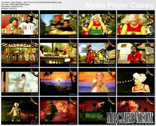 Gwen Stefani feat. Damian Marley - Now That You Got It