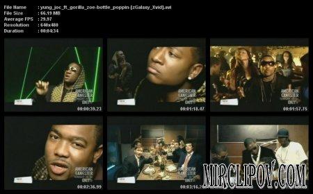 Yung Joc feat. Gorilla Zoe - Bottle Poppin 2007