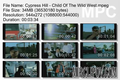 Cypress Hill - Child Of The Wild West