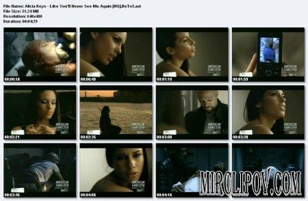 Alicia Keys - Like You'll Never See Me Again