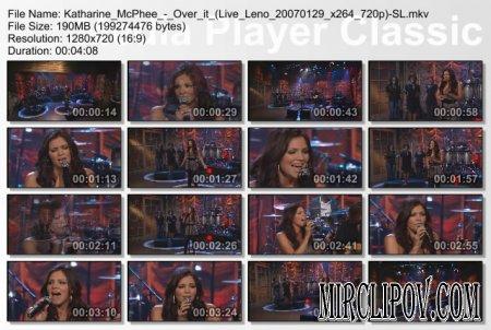 Katharine McPhee - Over it (Live Leno 2007)