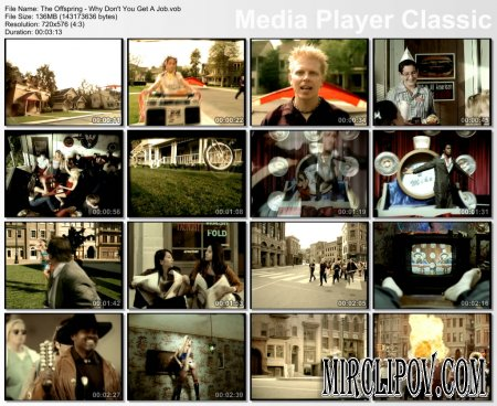 The Offspring - Why Don T You Get A Job