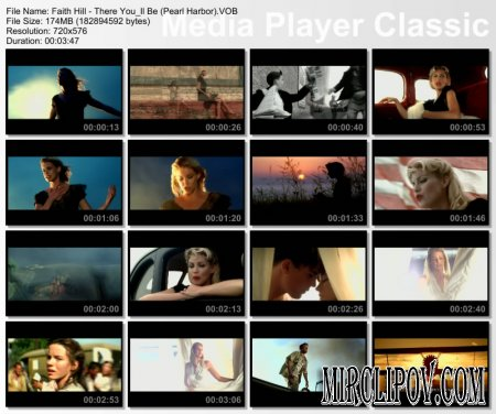 Faith Hill - There You'll Be (OST Pearl Harbor)
