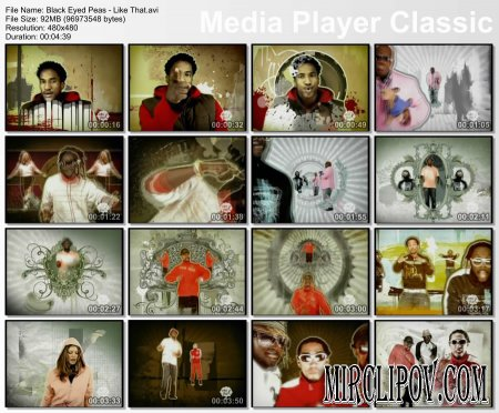 Black Eyed Peas Ft. Q-Tip, Talib Kweli, Cee-Lo, John Legend - Like That